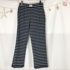 GAP Boys fleece striped pajama bottoms size 8